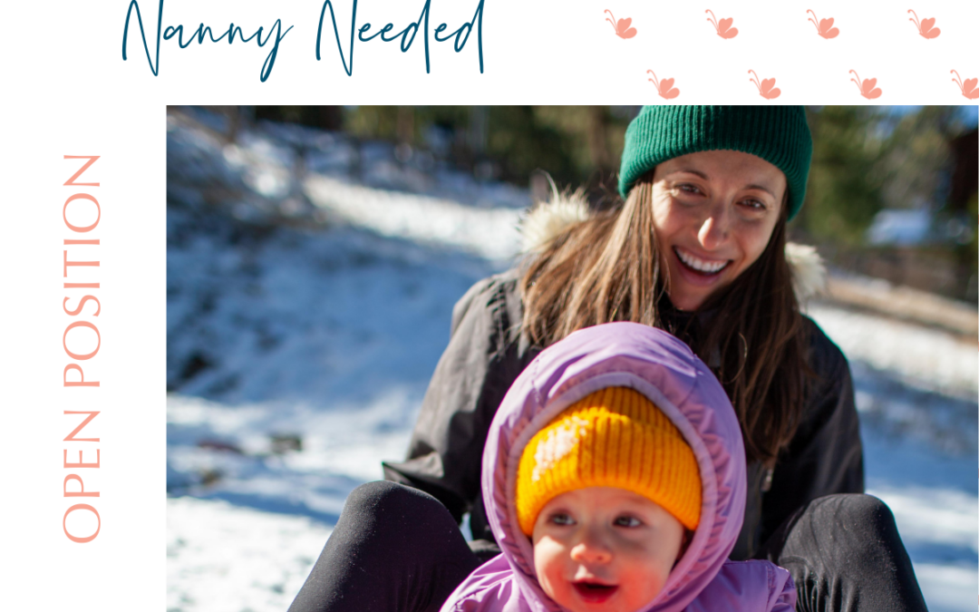 Live-In Travel Nanny Needed- Filled